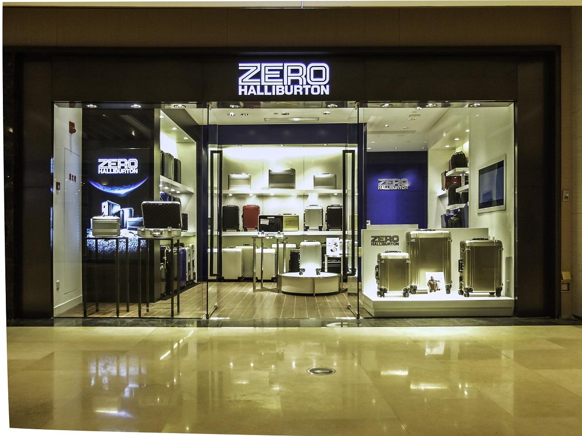 ZERO HALLIBURTON Shanghai Taikoo Hui Store