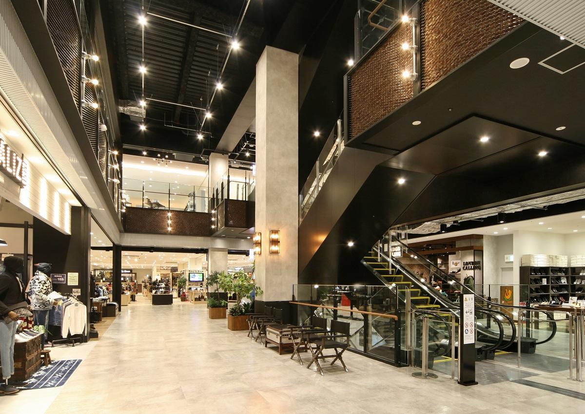 北関東エリア随一の大規模商業施設