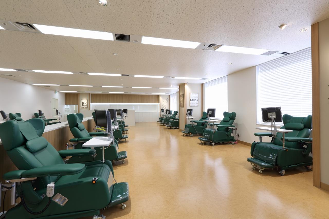 神奈川県赤十字血液センター 横浜Leaf献血ルーム