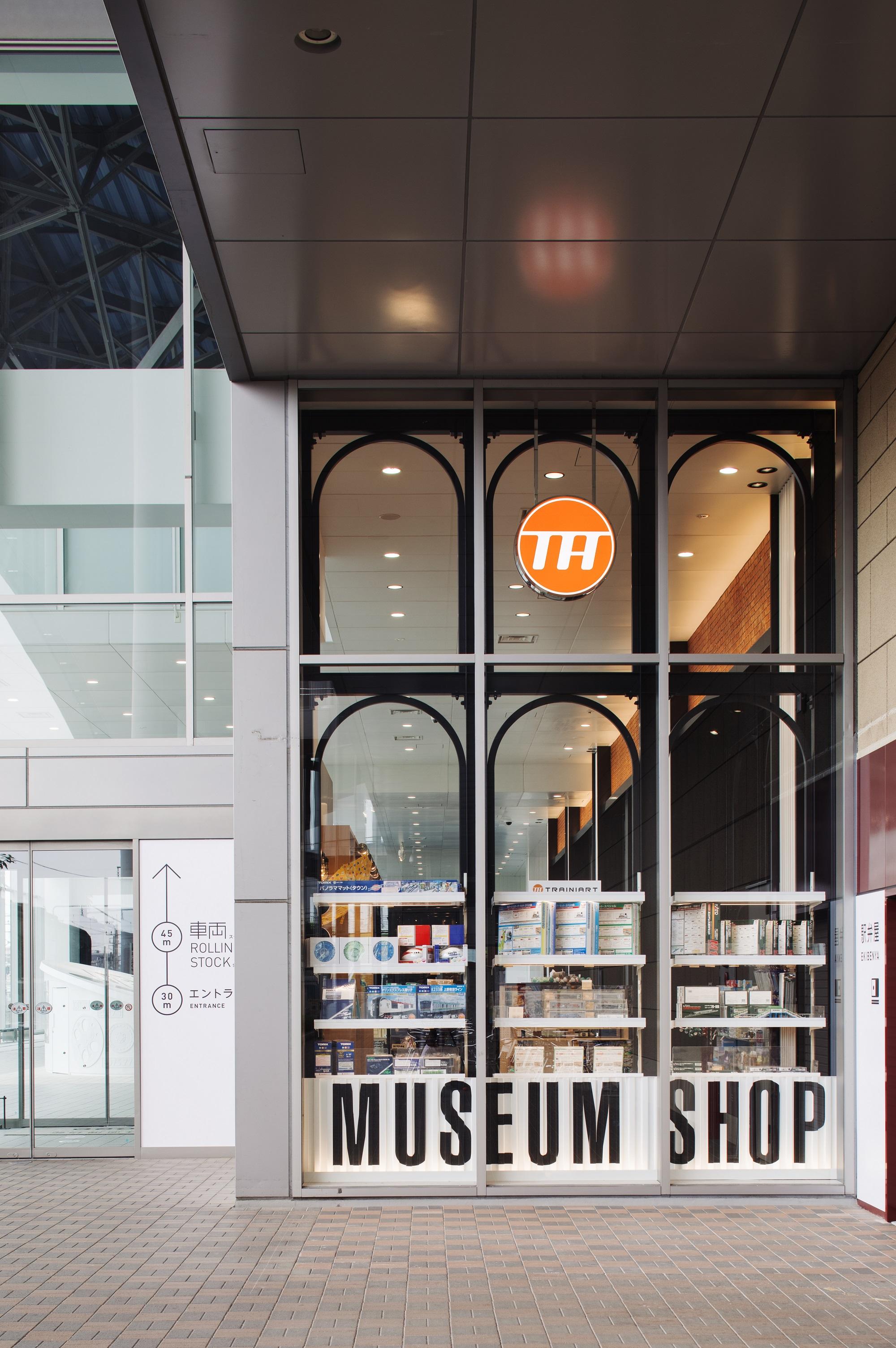 ミュージアムショップTRAINIART鉄道博物館店
