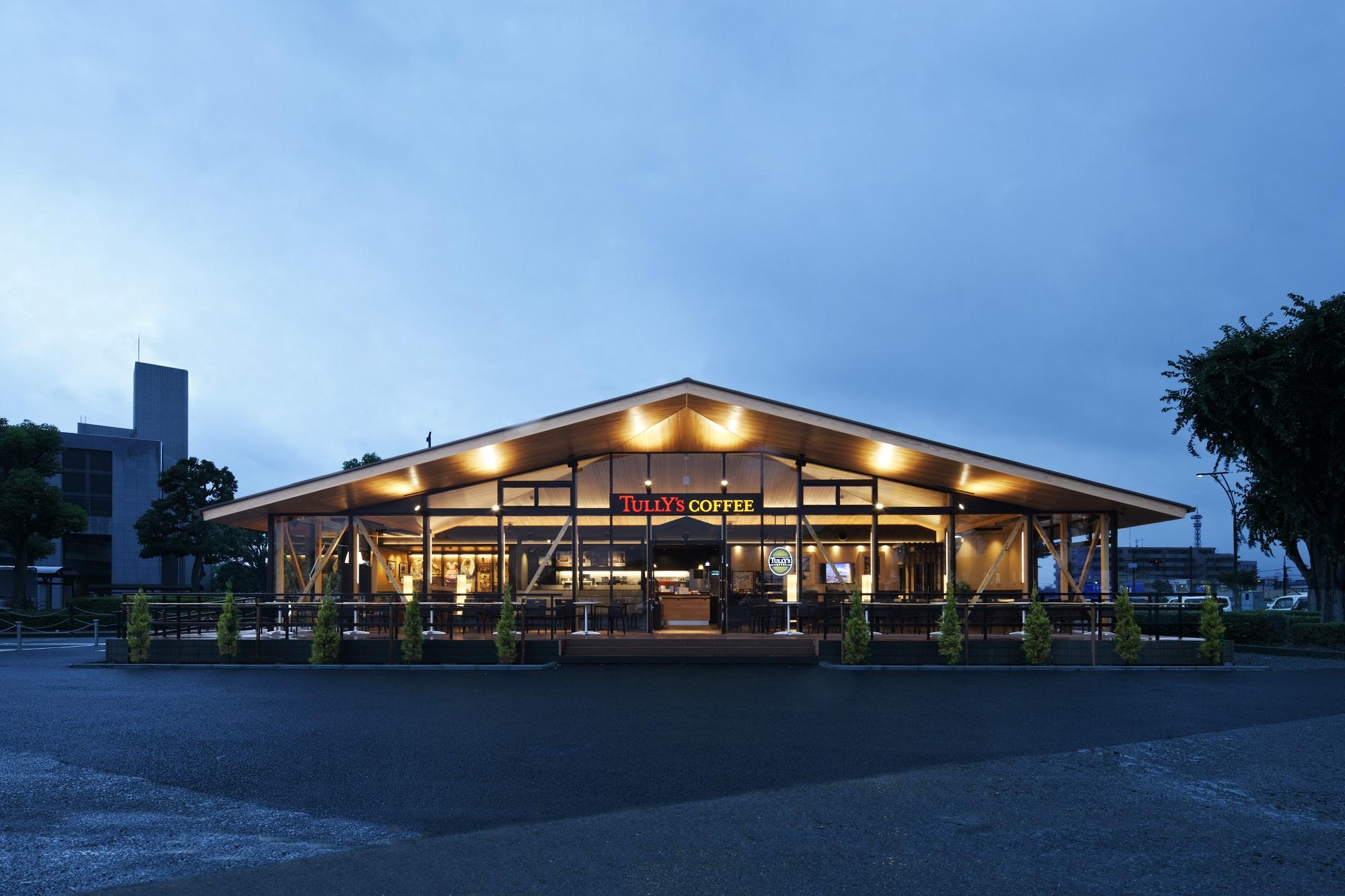 タリーズコーヒー富士市中央公園店