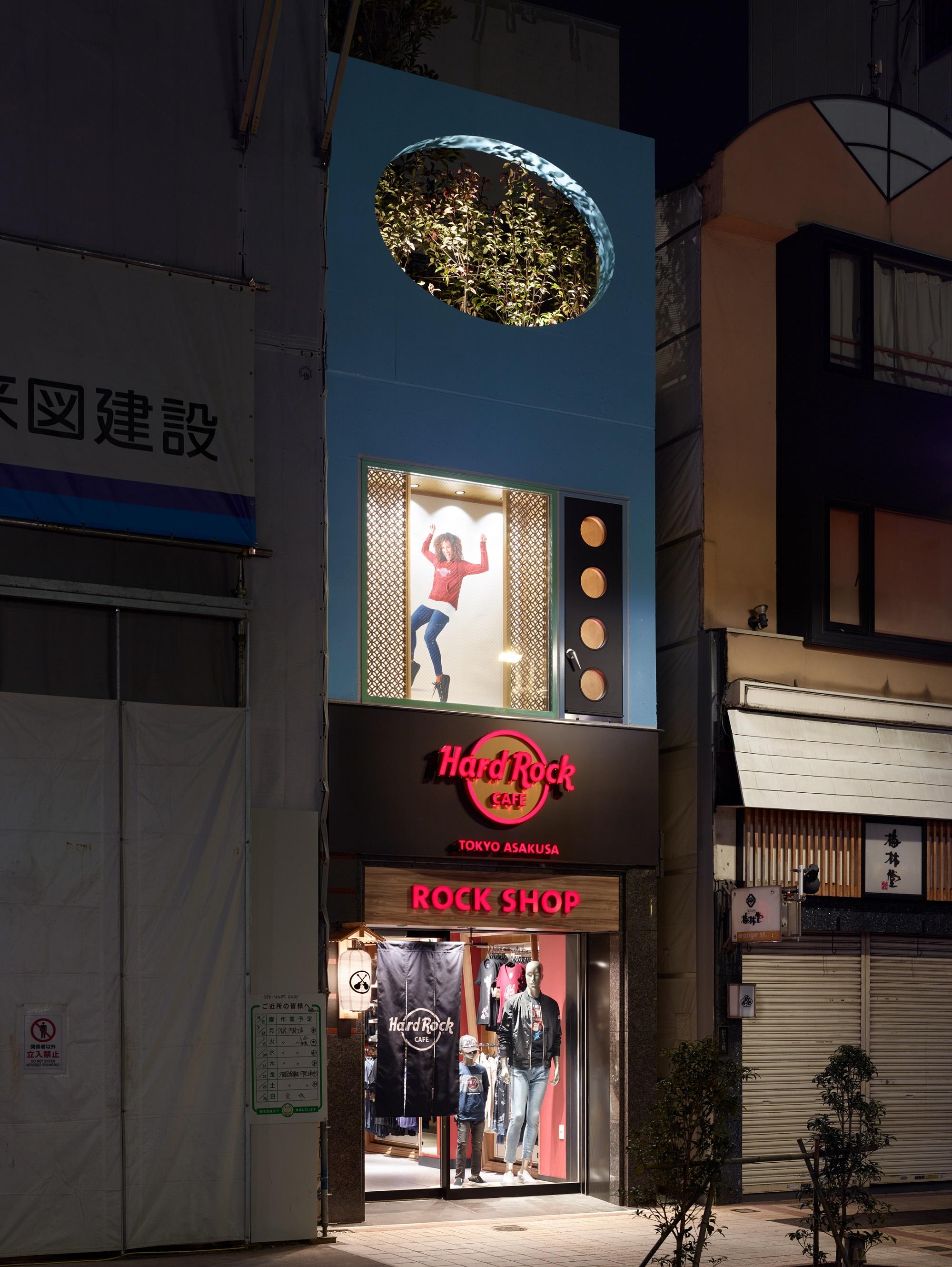 ハードロックカフェ東京 浅草 ロックショップ