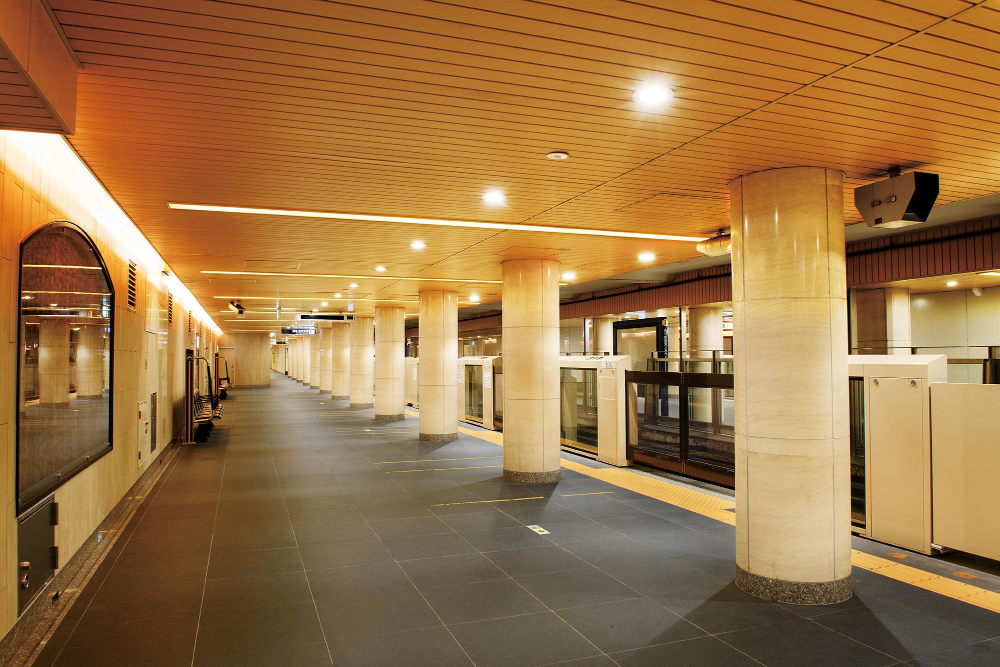 東京メトロ銀座線 京橋駅 日本橋駅(ノンスケール設計案件)