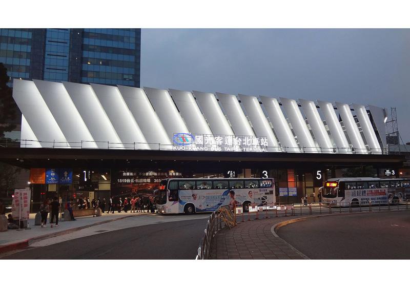 台北バスターミナル(ノンスケール設計案件)